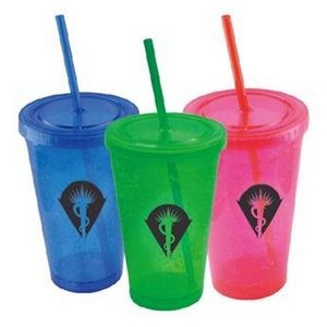 Gelly Cup with Straw