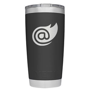 Branded Authentic YETI Rambler 20oz Tumbler